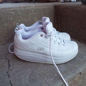 Skechers Shape-ups White Work Slip Resistant Shoes